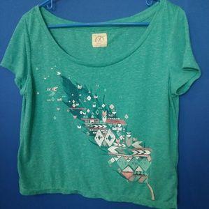 Women's American Eagle crop T-shirt